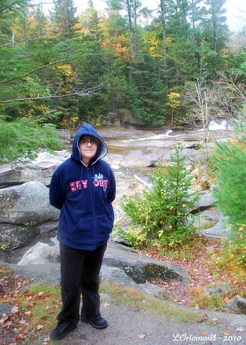 Jamie at Screw Auger Falls
