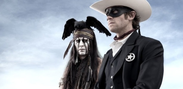 Johnny Depp e Armie Hammer na primeira imagem de O Cavaleiro Solitário, de Gore Verbinski