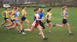Start of Women's race