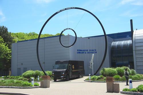 Submarine Museum Entrance by RV Bob