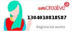 Safe Creative #1304010818587