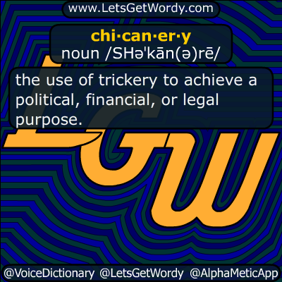 chicanery 05/16/2017 GFX Definition