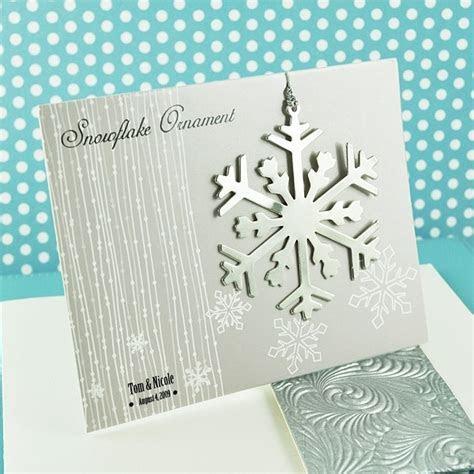 Silver Snowflake Christmas Tree Ornament Favors
