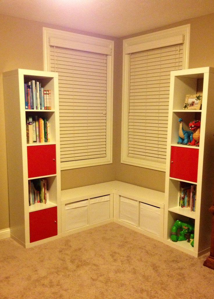 Organizing kids room: book shelves | Fun kids bedroom ideas | Pintere…