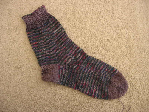 Singleton Stashbuster Spirals sock