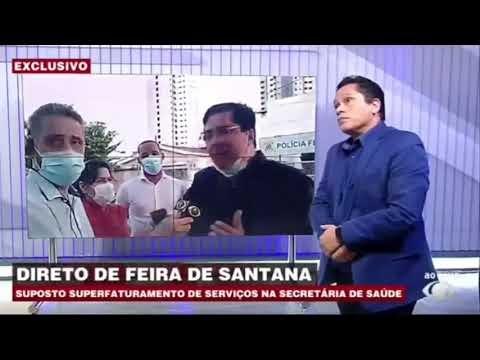 SECRETÁRIO DE SAUDE DE FEIRA É DENUNCIADO NA POLÍCIA FEDERAL
