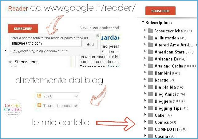 1 cartelle GR, google reader