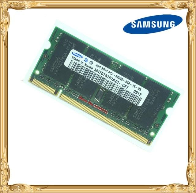 SAMSUNG M470T5267AZ3-CF7 SAMSUNG DDR2 4GB//800 SO-DIMM