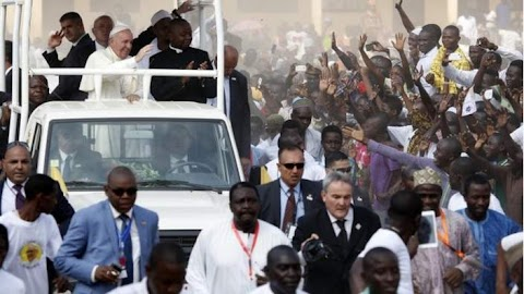 Pope ends Africa visit
