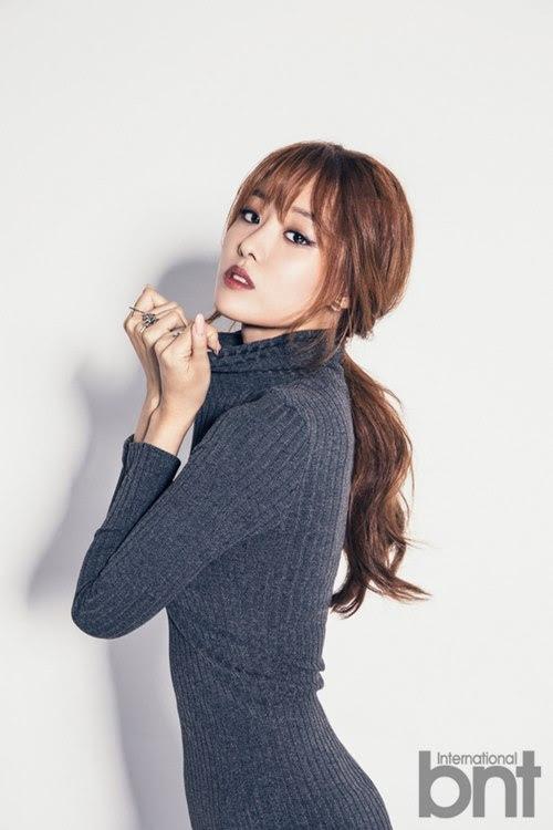 Secret Song Ji Eun - bnt International October 2014