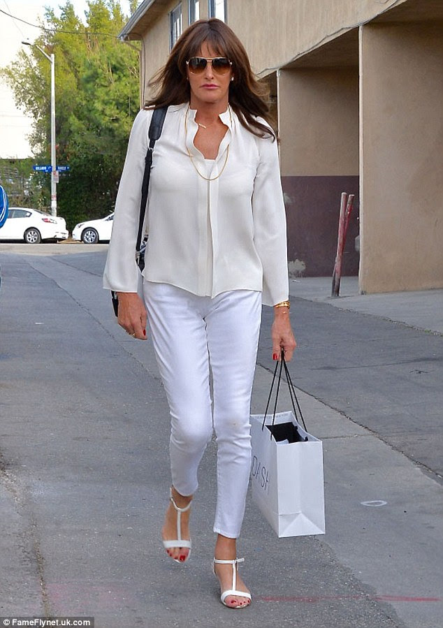 From reality star to model: Caitlyn Jenner, seen here on November 30, is now in talks to model for an upcoming H&M campaign, according to UsWeekly