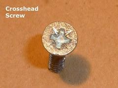 Crosshead Woodscrew