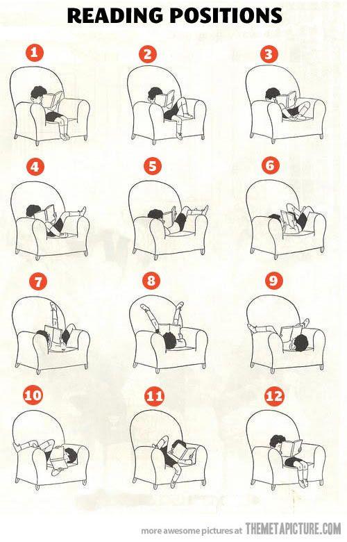 Reading Positions… so true!!