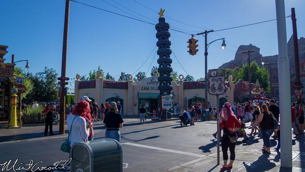Disneyland Resort, Disney California Adventure, Cars Land, Christmas, Christmas Time