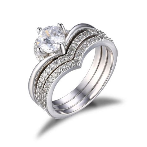 jewelrypalace women wedding engagement rings cubic