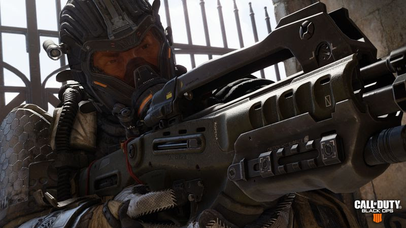 Call of Duty Optionally Personalised IIII Black Ops 4 COD - Gym Bag