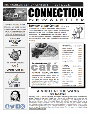 CONNECTION NEWSLETTER - June 2021