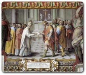Christen und Heiden vereinigen sich