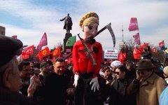 Митинг в Харькове. Фото пользователя Twitter @Socialistov