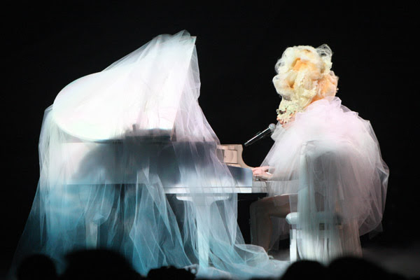 Lady Gaga at Brit Awards 2010