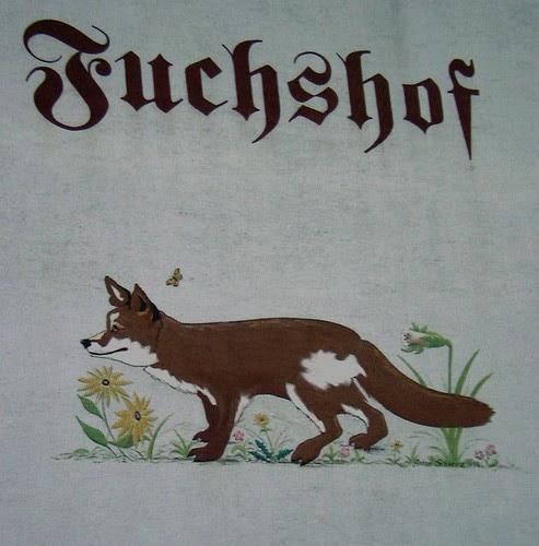 Hauszeichen Fuchshof Hollenthon