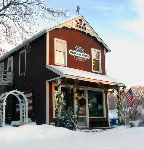 The General Store is closed in Winter