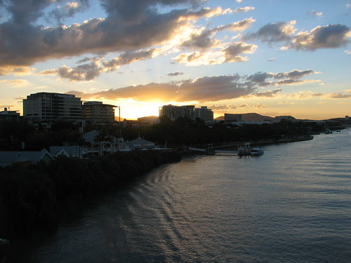 Southbank Brisbane Sunset