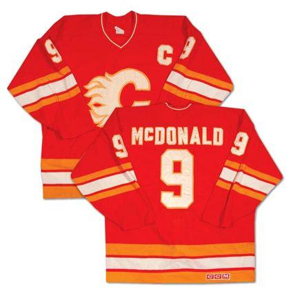 Calgary Flames 1988-89 jersey, Calgary Flames 1988-89 jersey