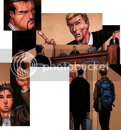 Tony e Peter no Senado