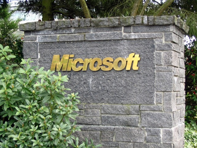 Microsoft Sign