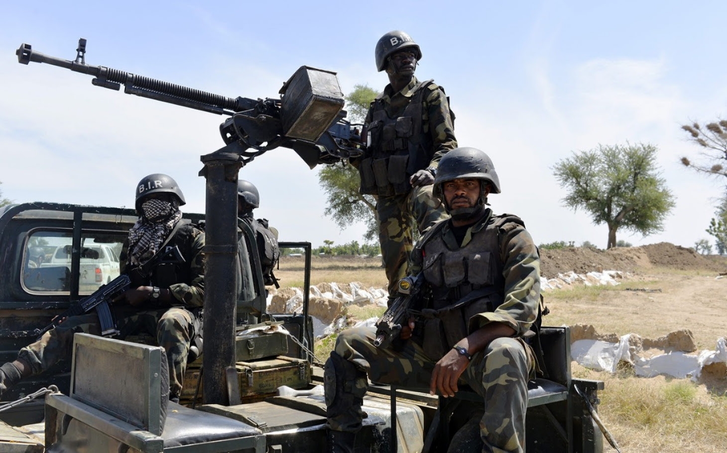 Image result for images of Cameroonian soldiers fighting Boko Haram