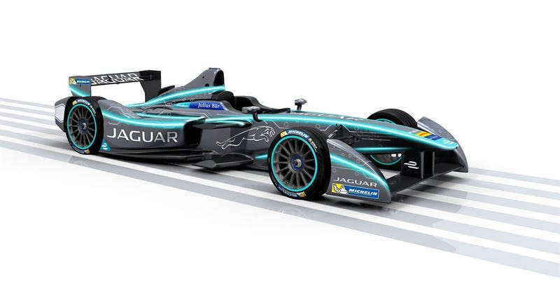 Jaguar Returns To Racing With Williams In The All-Electric Formula EChampionship
