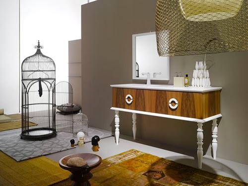 Bath Design & Décor: Chic Wooden Vanities