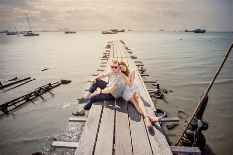 From Perth with Love . Prewedding in Penang . Amy & Chris