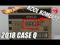 Complete Hot Wheels Car 2018 Case Q - Exclusive [COLLAB][Unboxing]