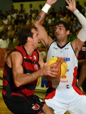 NBB Flamengo x Limeira Marcelinho (Foto: João Pires/LNB)