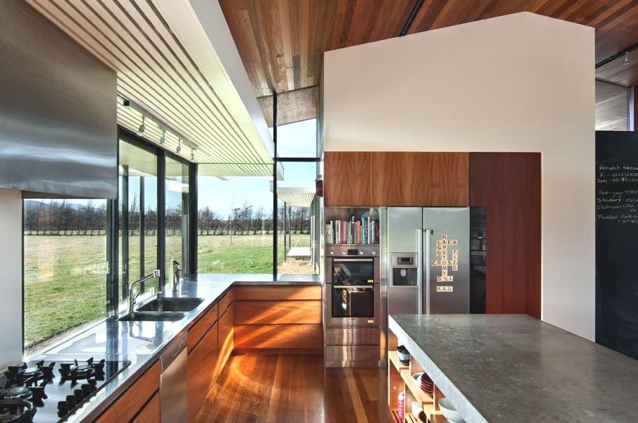 Luxury Wairau Valley property with outdoor swimming pool, New Zealand « Adelto Adelto - Glamorous Interiors At Lucerne House, New Zealand « Adelto Adelto