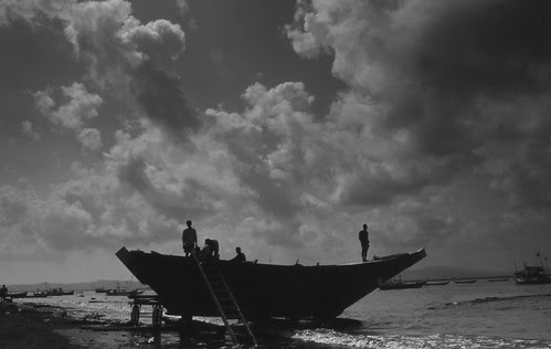 One Upon  A Time at Vasai With The Toilers of The Sea by firoze shakir photographerno1