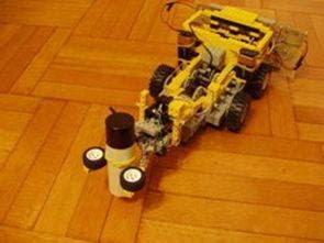 Dự án Robot 2 mảnh với Robot Robot Lego PIC16F877