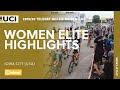 Vídeo resumen de la Copa del Mundo femenina de ciclocross de Iowa 2019