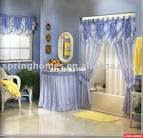 shower curtains with valance attached | FURNITURE