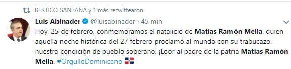 Abinader Natalicio Mella