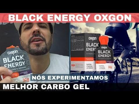 BLACK ENERGY OXGON O MELHOR E COMPLETO CARBOIDRATO EM GEL DO BRASIL