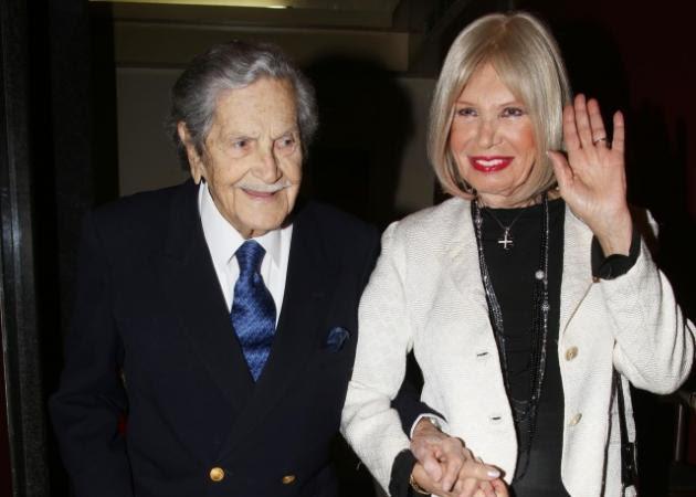 Δύσκολες ώρες για την Ρίκα Διαλυνά - Πέθανε ο σύζυγός της