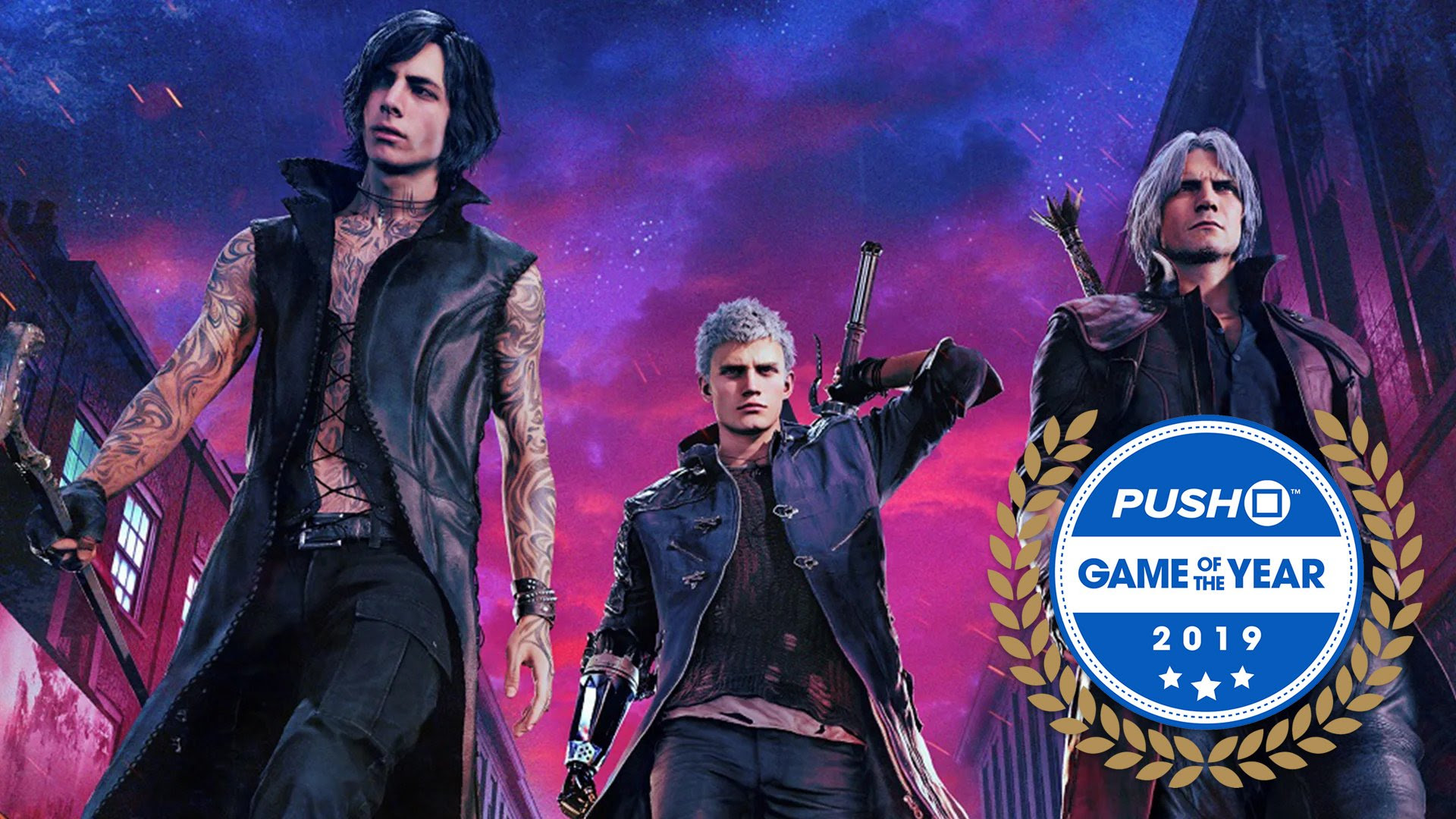 Game Of The Year 5 Devil May Cry 5 Push Square