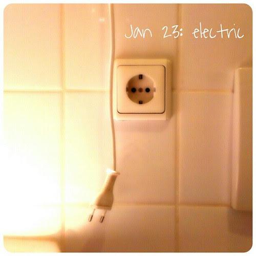 Jan 23: electric .. #bath #fmsphotoaday