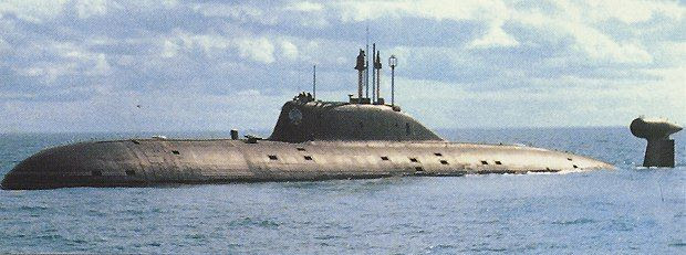 "Russian ""Akula"" Class Nuclear/Electric Attack Submarine"