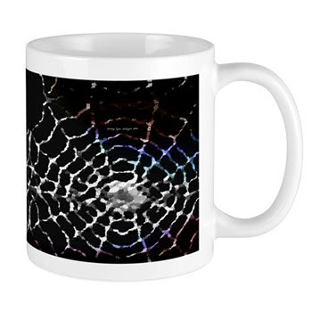 Halloween Spider Web Mug