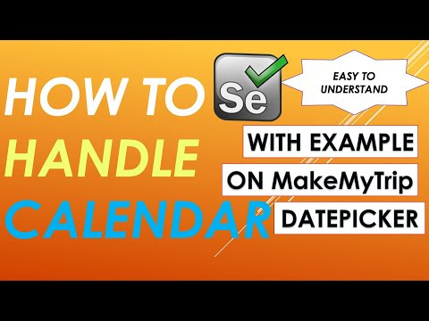 How to automate Date Picker on MakeMyTrip website?