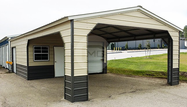 24x40 Utility Building   Metal Utility Carport